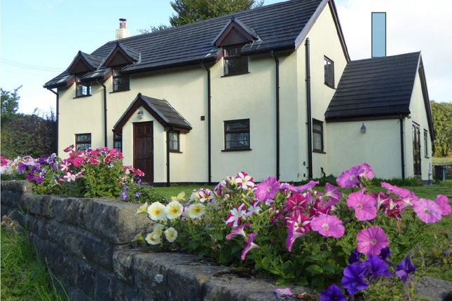 Thumbnail Detached house for sale in Heol Tynewydd, Bedwellty, Blackwood