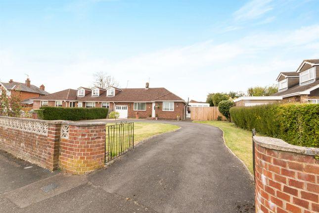 Thumbnail Semi-detached bungalow for sale in Roman Road, Basingstoke