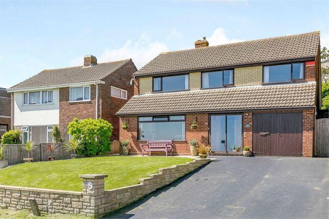 Thumbnail Detached house for sale in Wear Bay Road, Folkestone, Kent