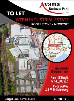 Thumbnail Industrial to let in Avana Business Park, Wern Trading Estate, Rogerstone, Newport