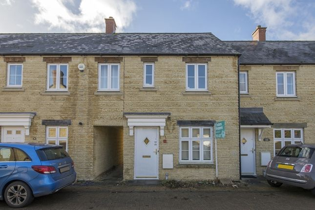 Thumbnail Terraced house to rent in Bathing Place Lane, Witney