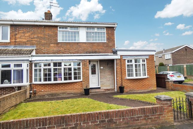 Thumbnail Semi-detached house for sale in Chester Way, Jarrow