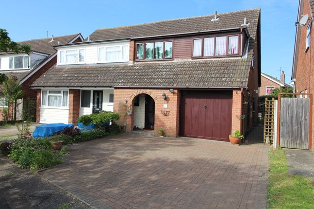 Thumbnail Semi-detached house for sale in Mayberry Walk, Colchester