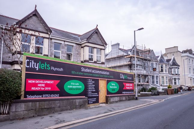 Thumbnail Flat to rent in North Road East, Plymouth