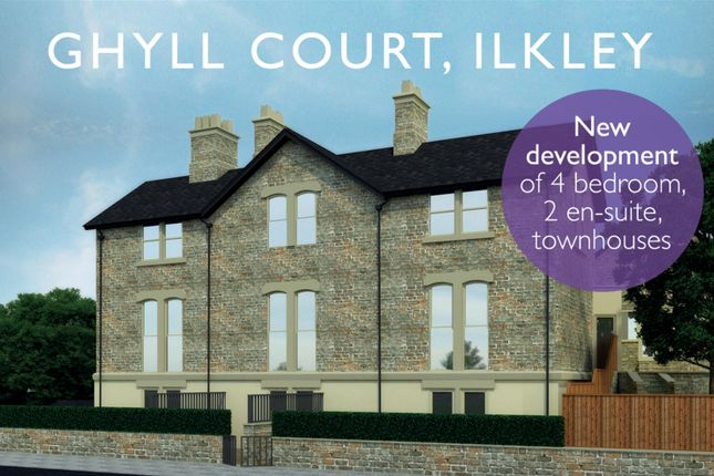 Thumbnail Town house for sale in Wells Walk, Ilkley