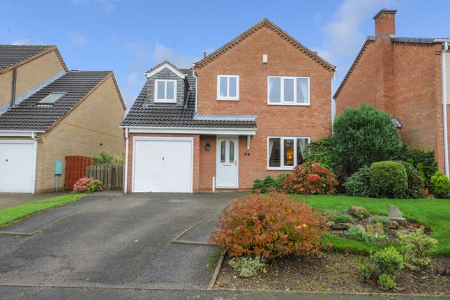 Thumbnail 4 bed detached house for sale in Douglas Road, Tapton, Chesterfield
