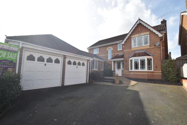 Thumbnail Detached house for sale in Charlotte Bronte Drive, Droitwich