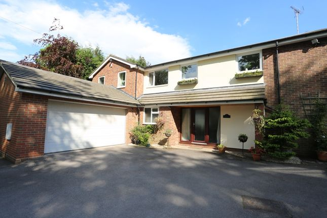 Thumbnail Detached house for sale in Aynsleys Drive, Blythe Bridge