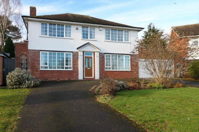 Thumbnail Detached house for sale in Brooks Road, Sutton Coldfield