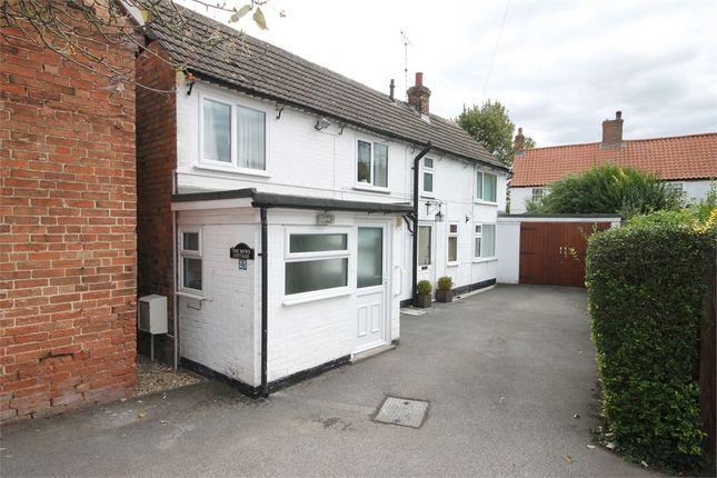 Thumbnail Cottage for sale in Main Street, Upton, Newark, Nottinghamshire.