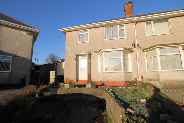 Thumbnail Semi-detached house for sale in Walters Road, St Budeaux