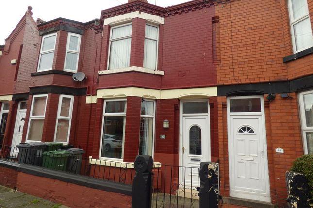 Thumbnail Terraced house for sale in Highfield Grove, Rock Ferry, Birkenhead