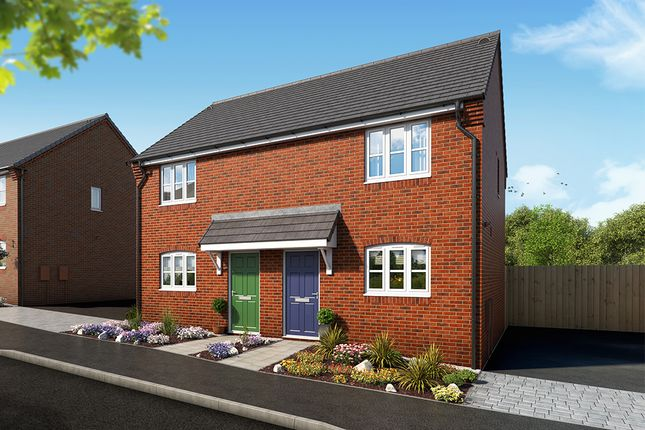 """Thumbnail 2 bed property for sale in """"The Buttercup"""" at Mansfield Road, Tibshelf, Alfreton"""