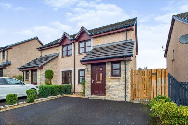 Thumbnail Semi-detached house for sale in Castledyke Way, Carstairs