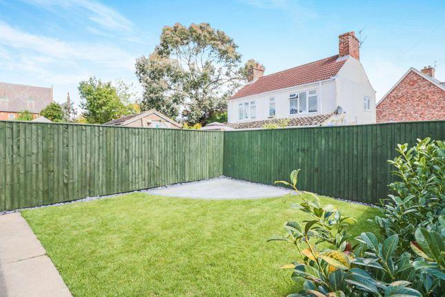 Rear Garden of Cheapside, Waltham, Grimsby DN37