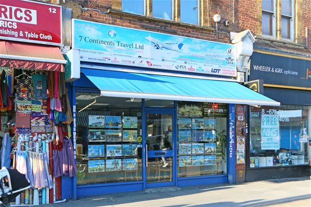 Thumbnail Property to rent in Tooting Market, Tooting High Street, London