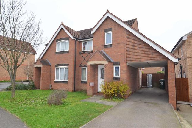 3 bed semi-detached house for sale in Darien Way, Thorpe Astley, Braunstone, Leicester