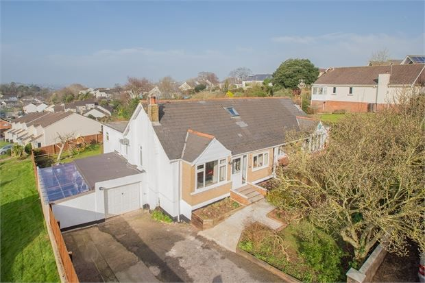 Thumbnail Semi-detached bungalow for sale in Veille Lane, Shiphay, Torquay, Devon.