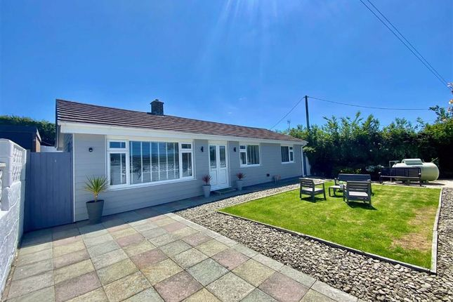 Thumbnail Detached bungalow for sale in Dyffryn Road, Aberporth, Ceredigion