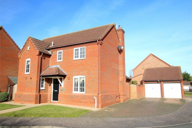 Thumbnail Detached house for sale in Blackwood Road, Eaton Socon, St. Neots
