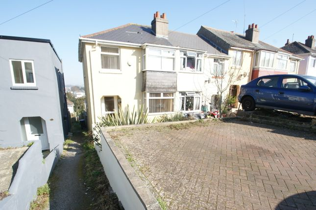 Thumbnail End terrace house for sale in Berry Road, Paignton