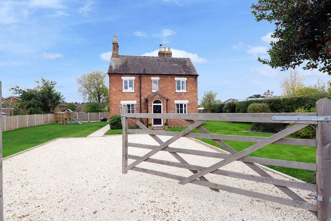 Thumbnail Detached house for sale in Poynton Road, Shawbury, Shrewsbury