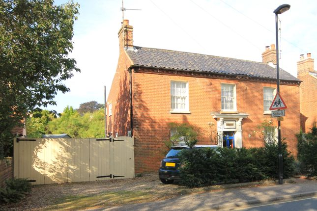 Thumbnail Detached house for sale in Wells Road, Fakenham