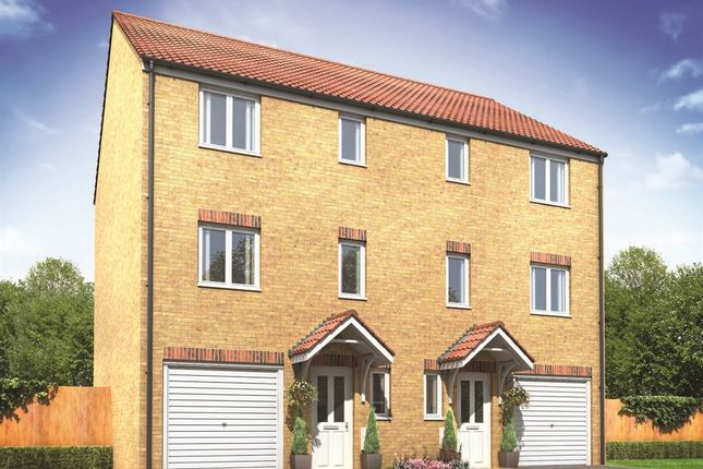 "Thumbnail Semi-detached house for sale in ""The Lydford"" at St. Georges Quay, Lancaster"
