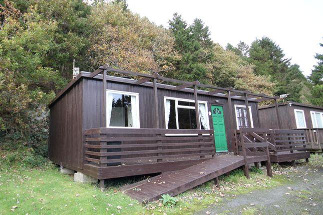 Thumbnail Mobile/park home for sale in Plas Panteidal, Aberdovey Gwynedd