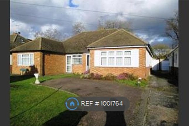 2 bed bungalow to rent in The Crescent, Caddington, Luton LU1
