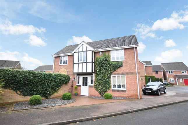 Thumbnail Detached house for sale in Sprowston, Norwich