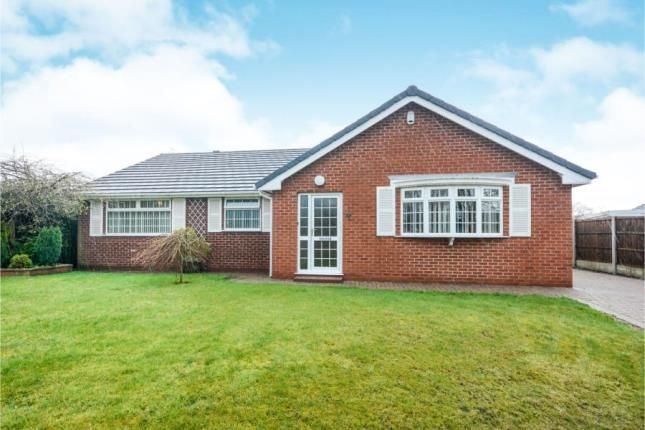 Thumbnail Bungalow for sale in Swanbourne Close, Hasland, Chesterfield, Derbyshire