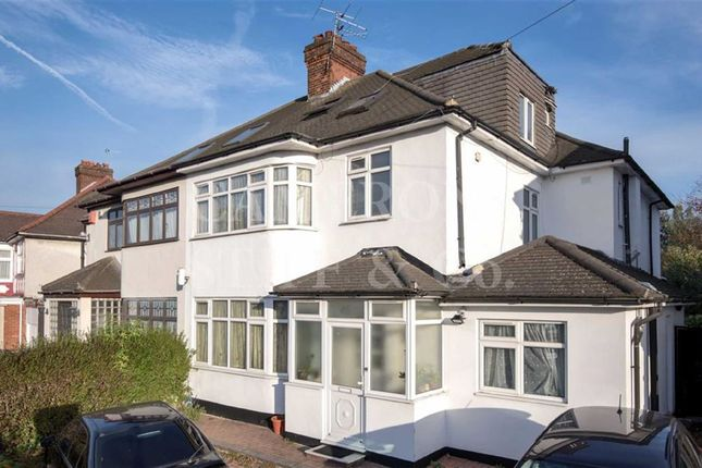 Thumbnail Semi-detached house for sale in Peter Avenue, Willesden Green, London