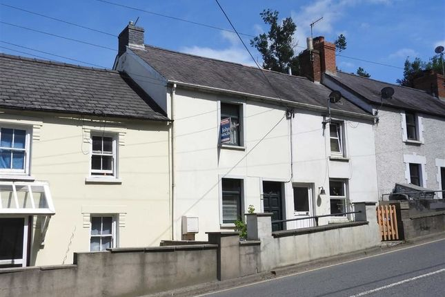 Terraced house for sale in Castle Street, Cardigan