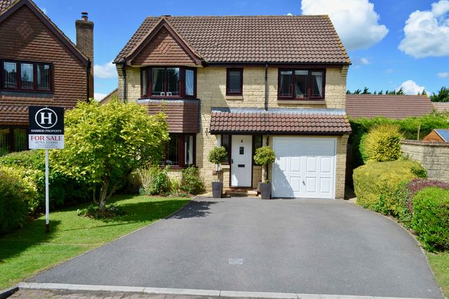 Thumbnail Detached house for sale in Sawyers Close, Chilcompton