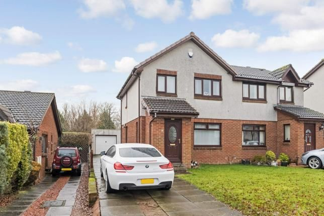 Thumbnail Semi-detached house for sale in Golf Gardens, Larkhall, South Lanarkshire