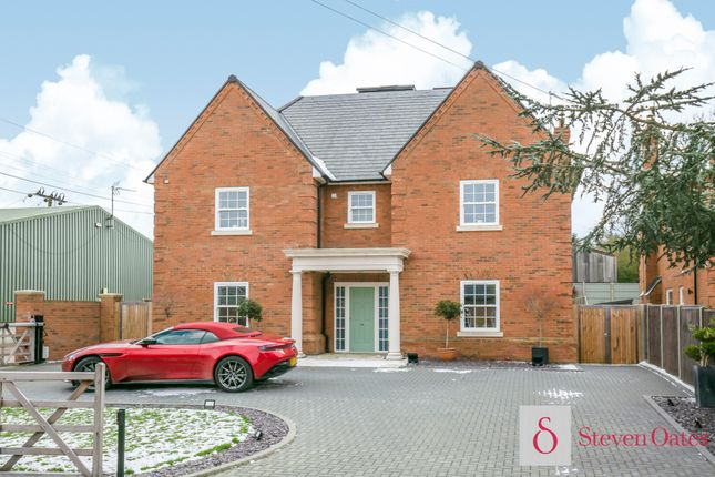 Thumbnail Detached house to rent in Hoe Lane, Nazeing, Waltham Abbey