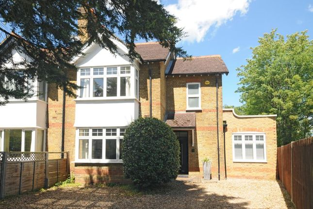 Thumbnail Semi-detached house to rent in Burwood Road, Hersham