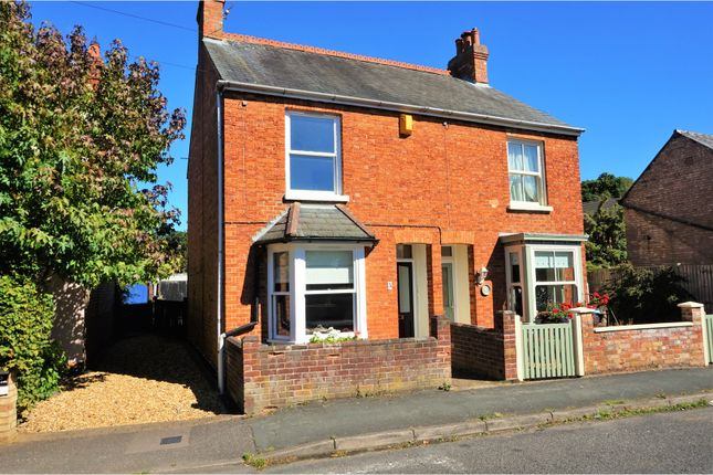 Thumbnail Semi-detached house for sale in Wood Street, Woburn Sands