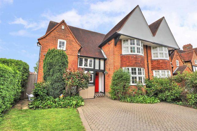Thumbnail Semi-detached house for sale in Priory Close, Ruislip