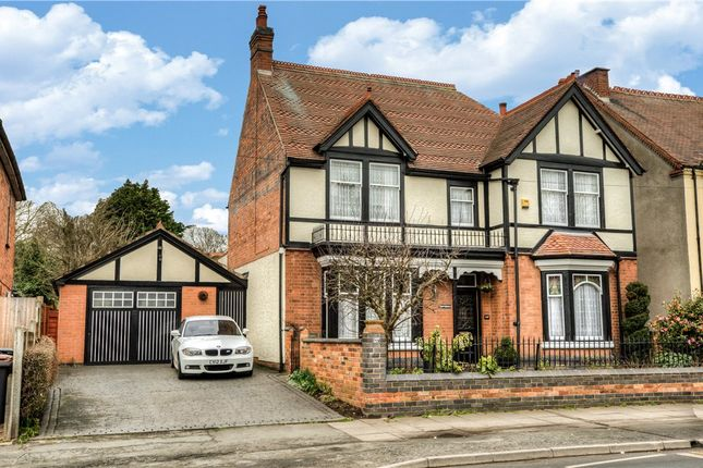Thumbnail Detached house for sale in Manor Court Road, Nuneaton, Warwickshire