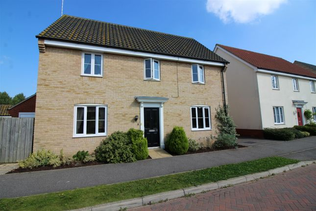 4 bed detached house for sale in Meadowsweet Road, Caister-On-Sea, Great Yarmouth