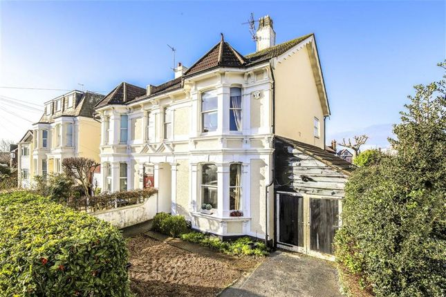 Thumbnail Semi-detached house for sale in Ravens Road, Shoreham-By-Sea, West Sussex