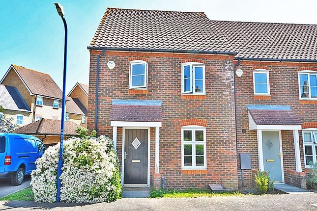 Thumbnail Terraced house to rent in Denning Close, Maidstone