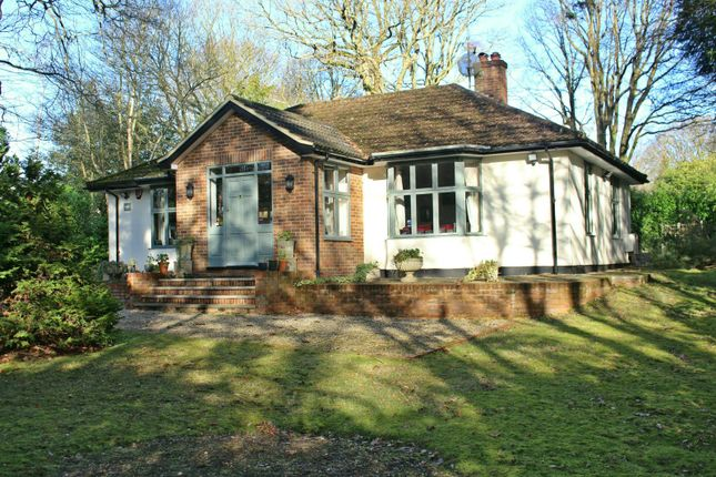 Thumbnail Bungalow for sale in Desborough Drive Tewin, Welwyn, Hertfordshire