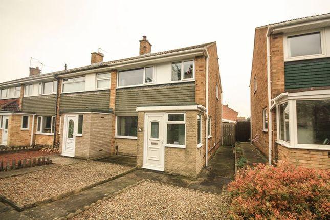 Thumbnail End terrace house for sale in Cleadon Avenue, Billingham