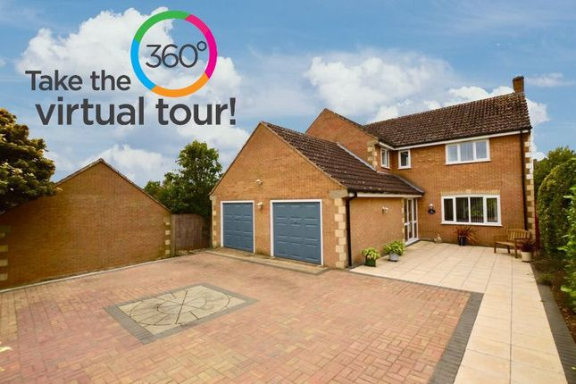 Thumbnail Detached house for sale in Dovecote Close, Barrowden, Oakham