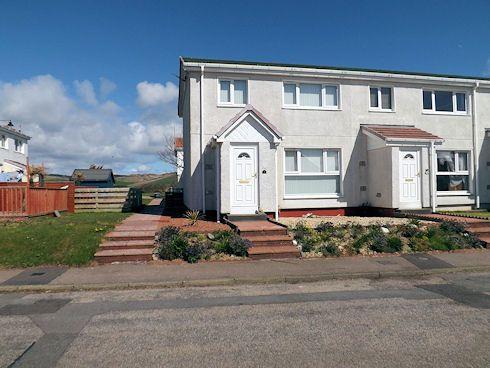 Thumbnail End terrace house for sale in Machrihanish, Campbeltown