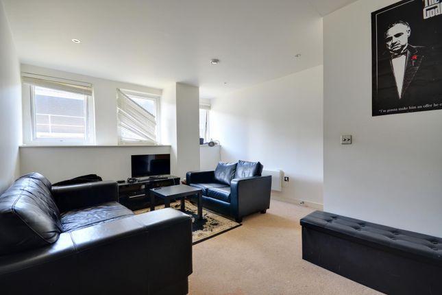 Thumbnail Flat to rent in High Street, Uxbridge, Middlesex