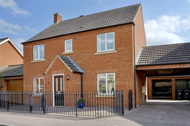 Thumbnail Detached house for sale in Baxter Drive, Eynesbury, St. Neots